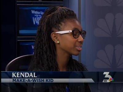 News video: Make-A-Wish helps Kendal meet the stars on the Red Carpet